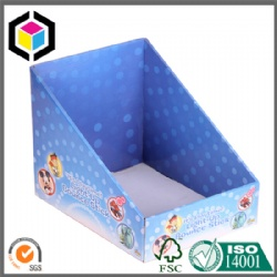 White Flute Cardboard Corrugated Display Box