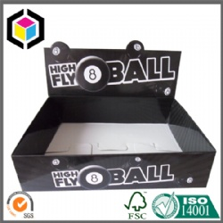 Foldable Glossy Color Corrugated POP Display Box