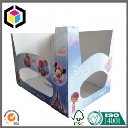 Glossy Color Stackable Corrugated Cardboard Display Box