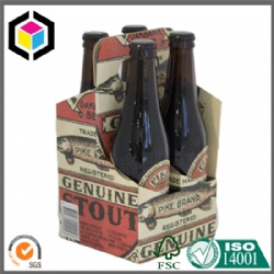Printed 4 Pack Beer Carry Carton Box