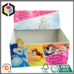 Full Color Print Cardboard Carton Display Stand Box