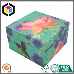 Rigid Custom Colorful Print Cardboard Gift Packaging Box